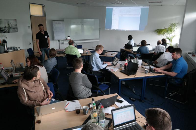 CodeJam zu den Themen Gateway und SAPUI5 bei Inwerken