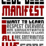 CodeDojo bei Inwerken - Manifest