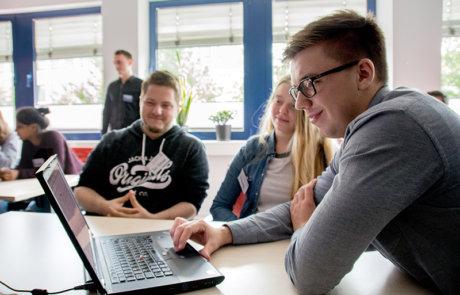 Schülerinnen- und Schülertag 2017 bei Inwerken in Hannover