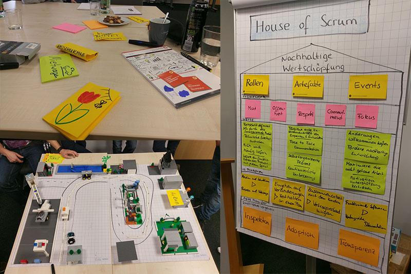 Events bei Inwerken: Interne Srcum Schulung bei Inwerken in Hannover