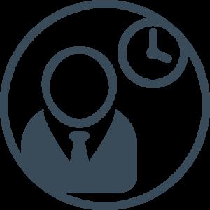 Leistungsportfolio Projektmanagement Inwerken: Icon Projektmanagement