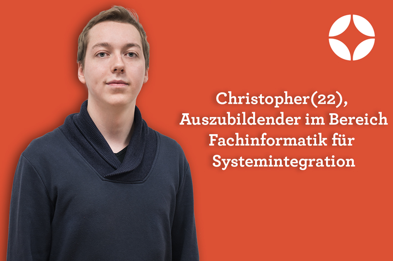 Auszubildener im Bereich FI Systemintegration