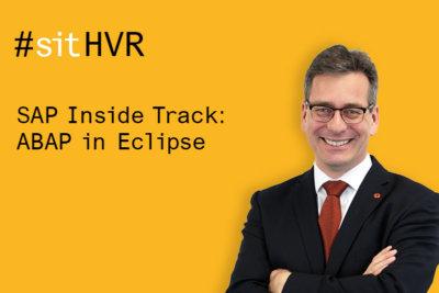 Speaker of SAP Inside Track