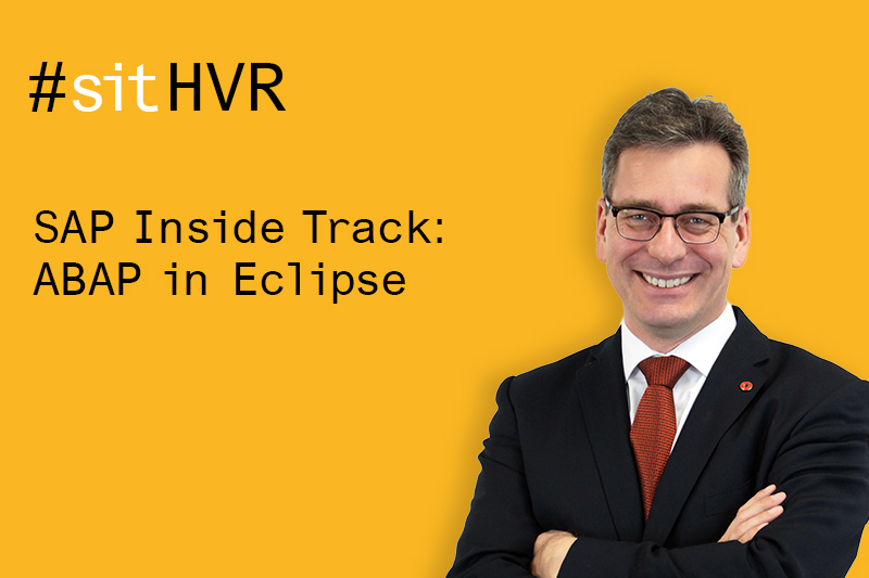 Speaker of SAP Inside Track