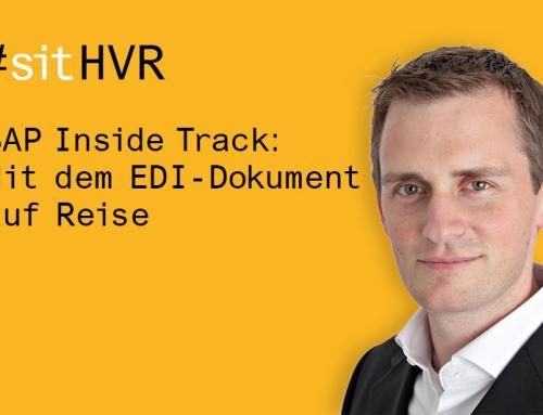 SAP Inside Track: Mit dem EDI-Dokument auf Reise