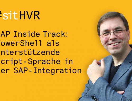 SAP Inside Track: PowerShell als unterstützende Script-Sprache in der SAP-Integration