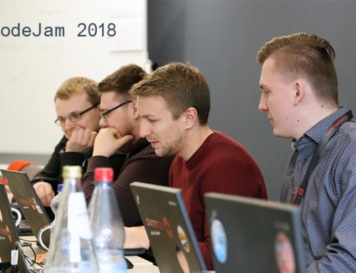 Reger Austausch auf der CodeJam 2018