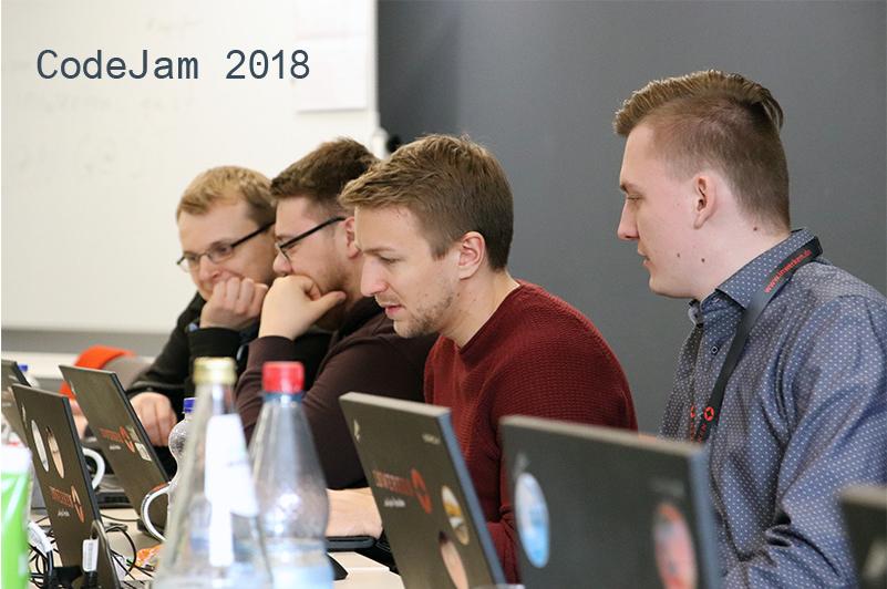 CodeJam 2018 bei Inwerken fördert regen Austausch