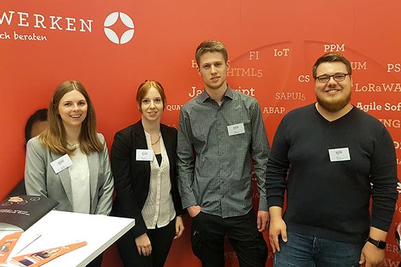 Inwerken Messebesuche: Inwerken bei der Meet@ 2018