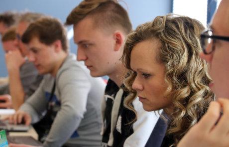 SAP CodeJam 2018 bei Inwerken in Hannover: SAP HANA Express in der Google Cloud Platform mit Lucia Subatin (SAP) und Casey West (Google)