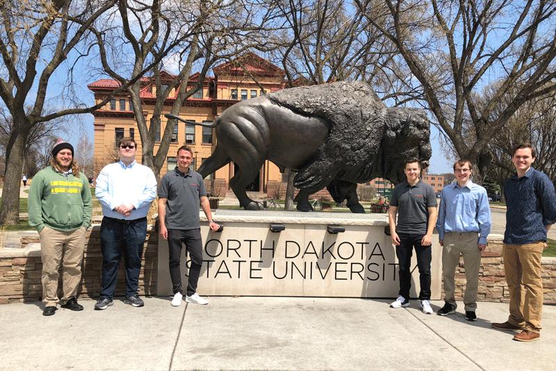 Kooperationsprojekt Inwerken und North Dakota State University: Entwicklung eines Wartungscockpit-Prototyps