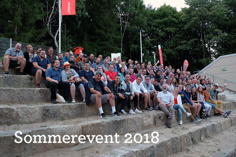 Firmenevents Inwerken: Sommerevent 2018 in Kooperation mit WSN