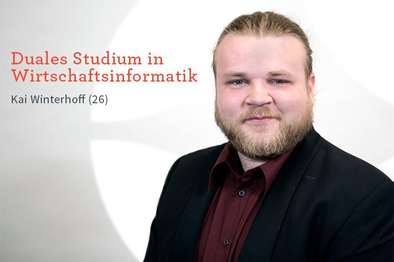 Karriere bei Inwerken: Kai Winterhoff: Duales Studium in der Wirtschaftsinformatik