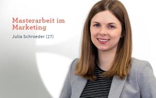 Karriere bei Inwerken: Julia Schroeder: Masterarbeit im Marketing