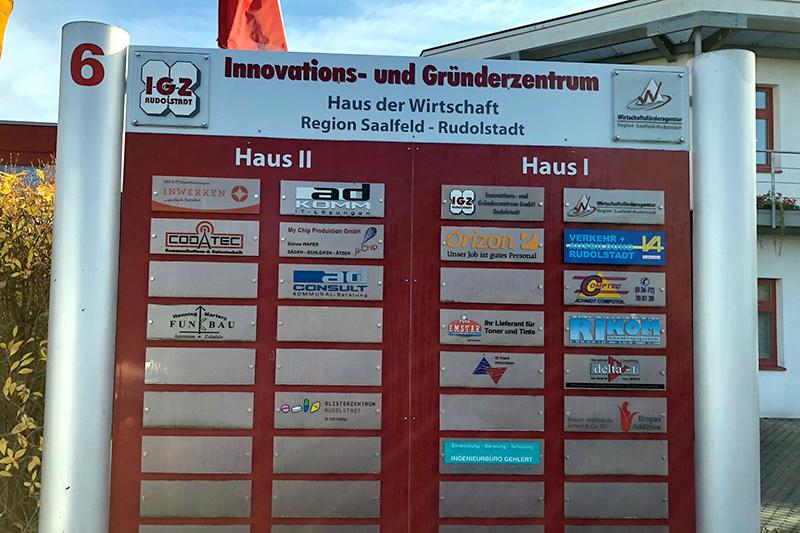 Außenstellen Rudolstadt