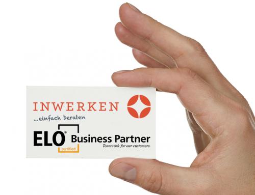 Digitalisierung von Belegen: Inwerken ist neuer Business Partner von ELO