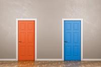 Flyer Weiterbildungs-Seminare: Entscheidungen treffen
