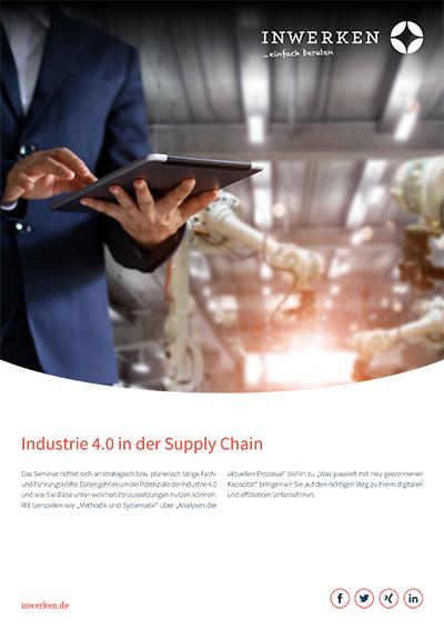 Flyer Weiterbildungs-Seminare: Industrie 4.0