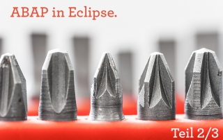 Unit-Tests: ABAP in Eclipse Teil 2/3