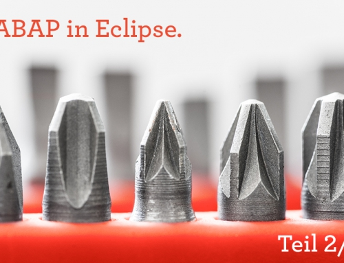 Unit-Tests 2/3: ABAP in Eclipse