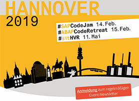 Inwerken Newsletter Januar 2019: SAP-Community Events