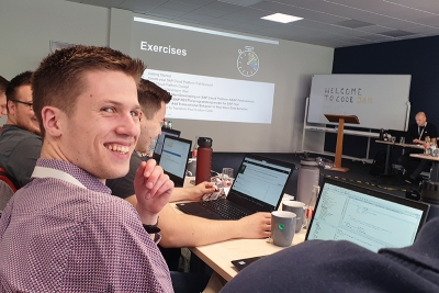 SAP CodeJam im Mai 2019 in Hannover: ABAP Restful Programming Model mit Ingo Bräuninger