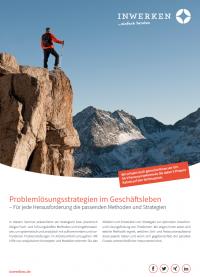 Inwerken Leistungsportfolio Seminare: Problemlösungsstrategien
