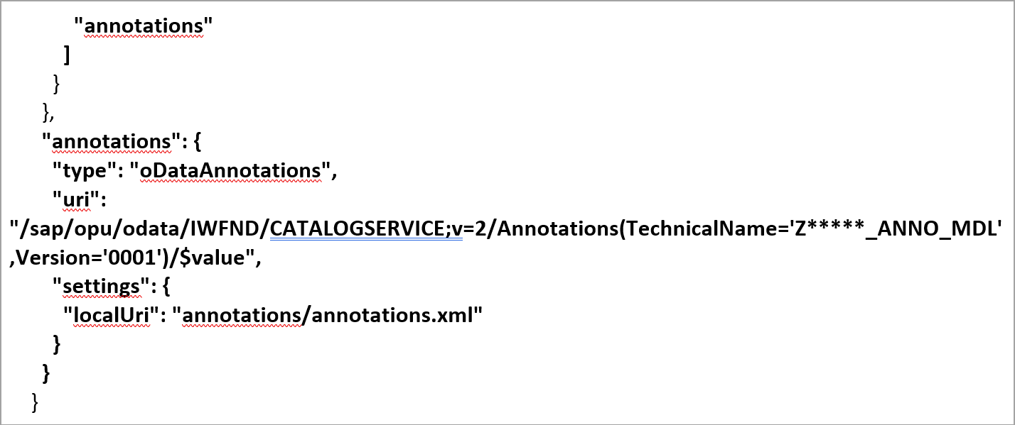 Custom manifest.json
