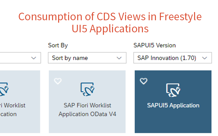 Konsum von CDS Views in Freestyle UI5 Anwendungen