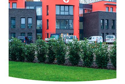 Pappelweg Polaroid Neues Firmengebäude Inwerken AG