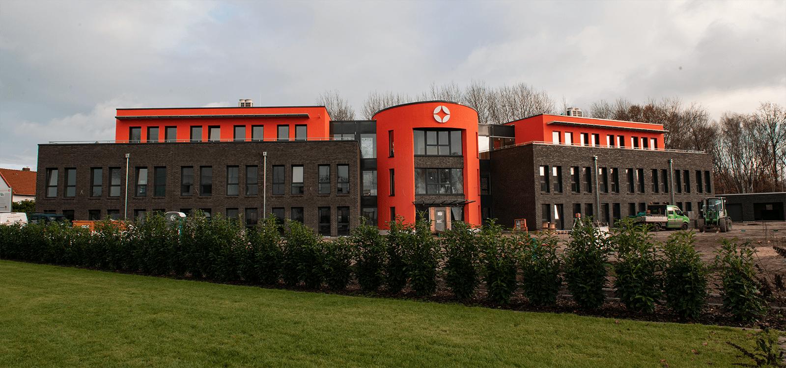 Neues Firmengebäude Inwerken Pappelweg