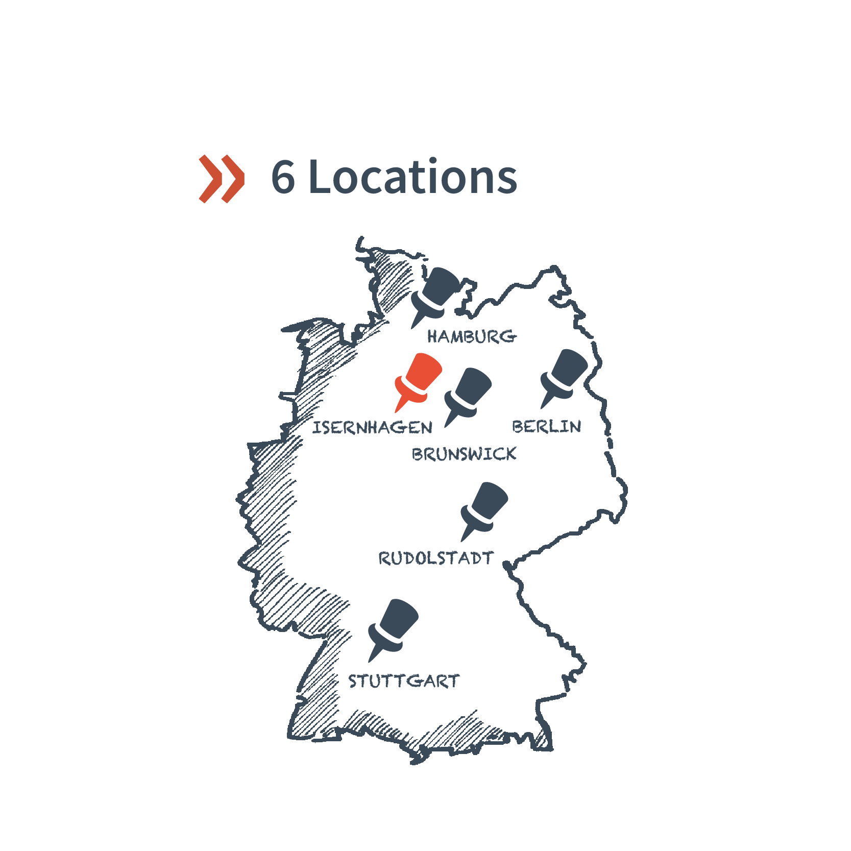 6 Locations and Sites in Germany