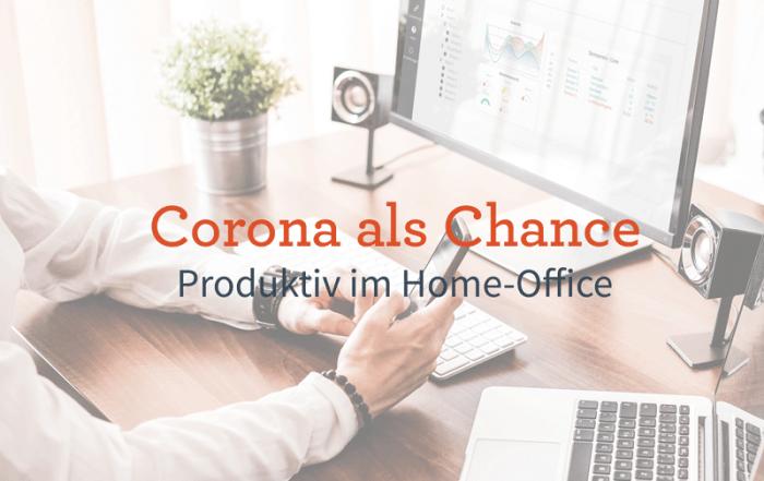 Produktivität im Home-Office Arbeitsplatz zu Hause