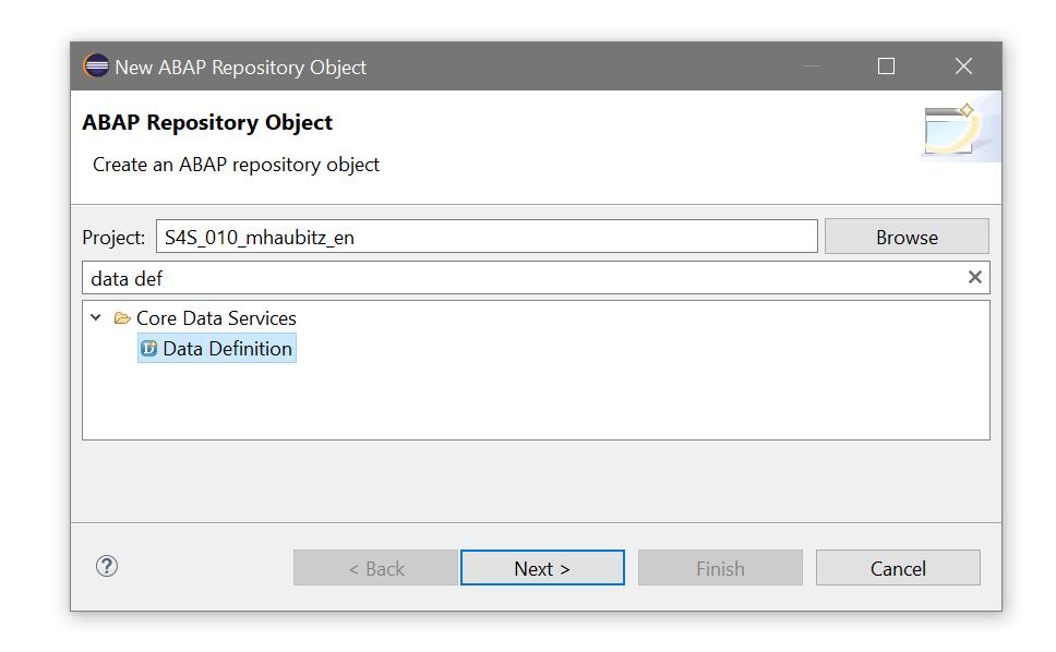 abap repository