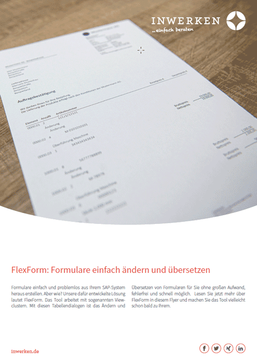 FlexForm: solution for corporate forms