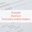 FlexForm Formulare ändern