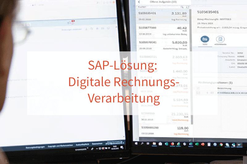 SAP-Lösung Digitale Rechnungsverarbeitung