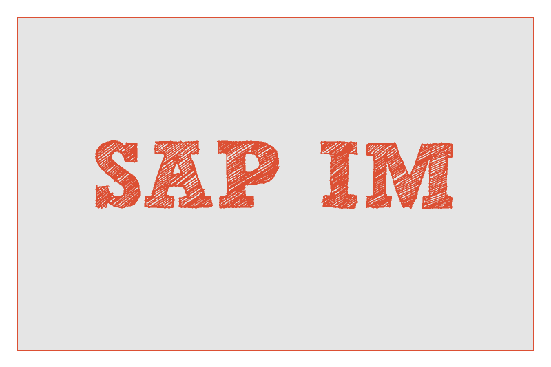 SAP IM