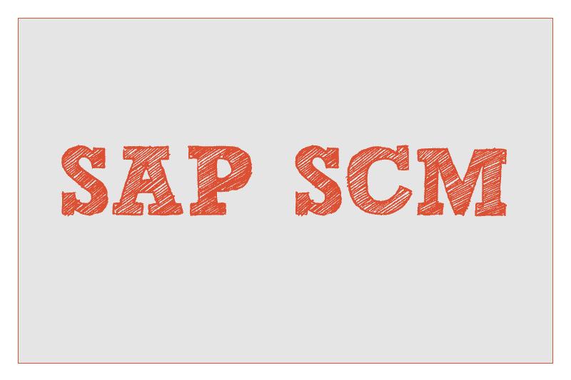 SAP SCM