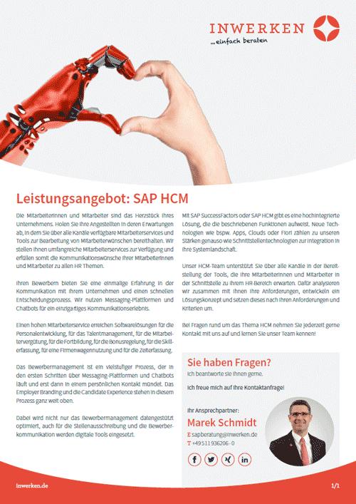 SAP HCM offer SuccessFactors