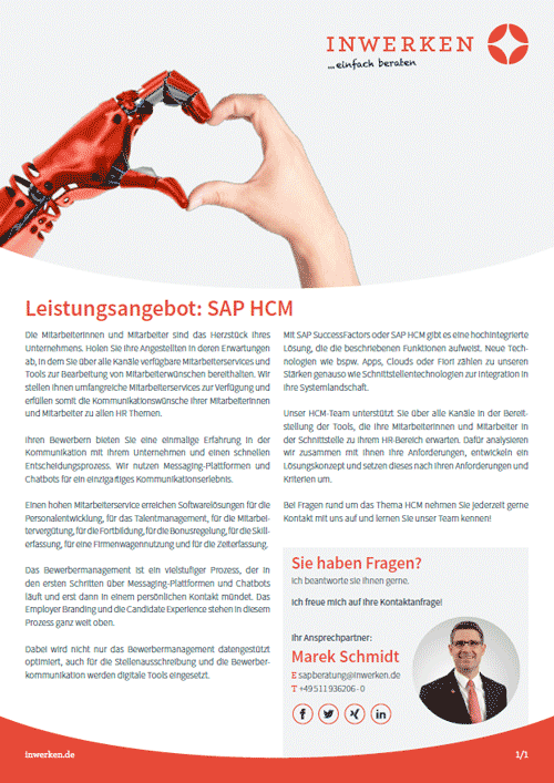 SAP HCM Angebot SuccessFactors