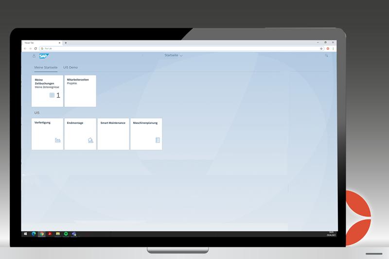 Fiori SAP UI5 Launchpad