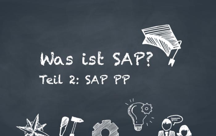 Was ist SAP? Modul PP