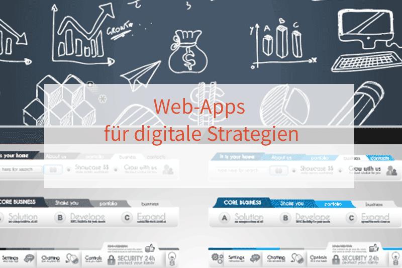 Web-Apps für digitale Strategien