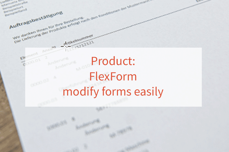 Modify FlexForm forms