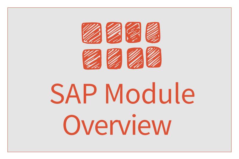 SAP Module Overview