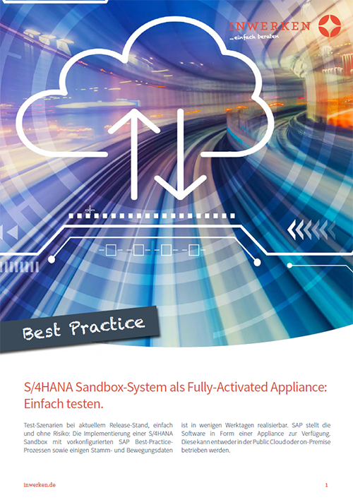 S/4HANA Sandbox Fully Activated Appliance