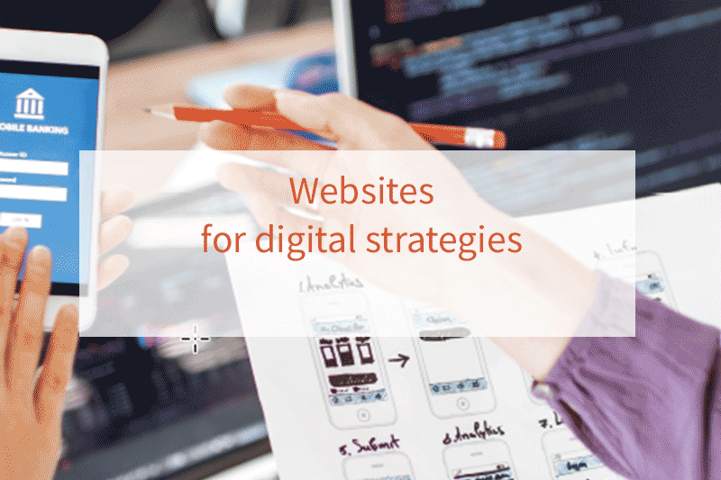 Websites for your digital strategy