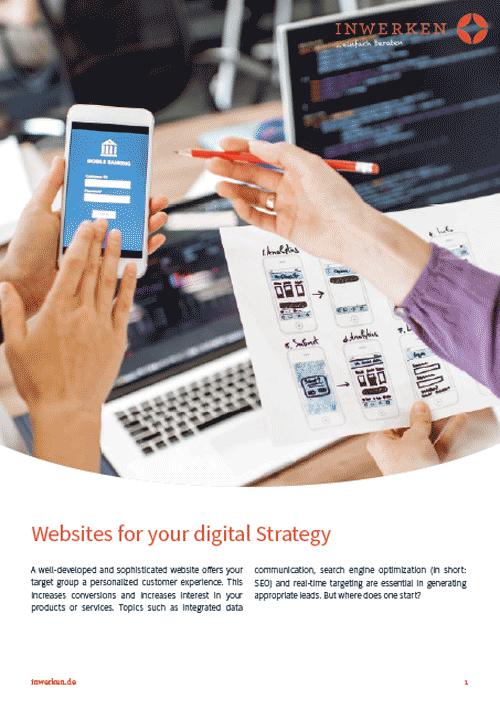 Websites for digital strategies