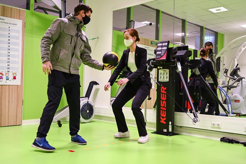 Sporttraining Kinderkrebshilfe Hannover